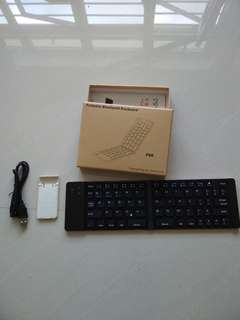 F66 foldable Bluetooth keyboard