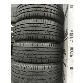205/55/16 橫濱 YOKOHAMA 日本製 E70輪胎之王 跑100km拆車全新落地胎 現折2000/條限量一組
