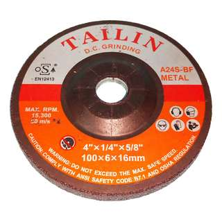 "TAILIN grinding disc 4"" for metal"