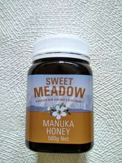 New Zealand Sweet Meadow Manuka Honey 500g 新西蘭蜜糖