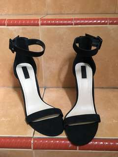 Forever21 High Heels Black