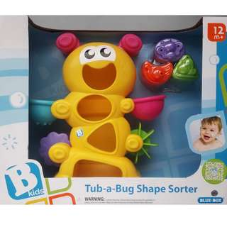 BKids - Tub-a-Bug Shape Sorter