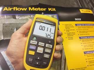 Fluke 922 kit 空氣流量檢測儀/空氣品質檢測儀