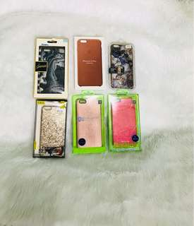 Apple iPhone cases for 6s plus bundle of 6