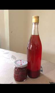 Homemade Red Glutinous Rice Wine 红糟酒