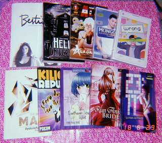 Bundle Books with Jonaxx Freebies - Wattpad Books - Psicom - Popfiction and others