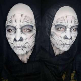 Night walker inspired makeup