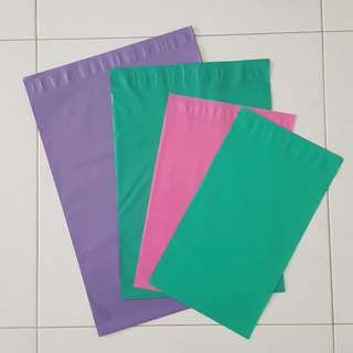 Coloured Poly Mailers 12pcs Sample Pack