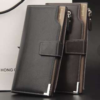 GV Baellerry  1283 Multi-function Soft Leather Clutch Wallet