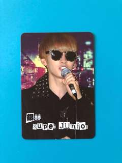 (包郵) 銀赫 Super Junior Yes卡 / EunHyuk Yes Card