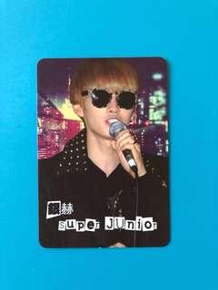 (包郵) 銀赫 Super Junior Yes卡 / EunHyuk Yes Card