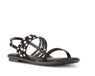 Velvet pearl shoes size 37