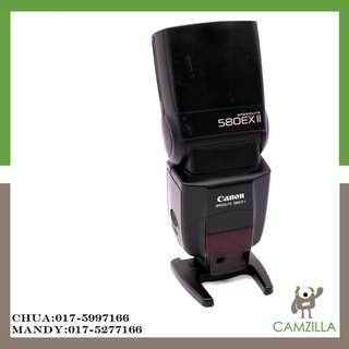 USED CANON SPEEDLITE 580 EX II