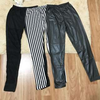 Legging black 3pc