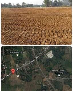 Tanah di Zona Industri Tangerang