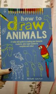 Children's animal drawing book