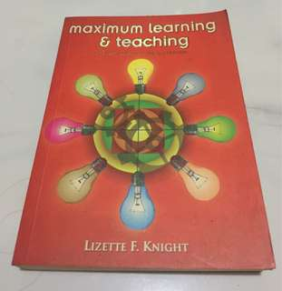 Maximum Learning and Teaching