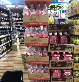 🚚 日本 透明可樂