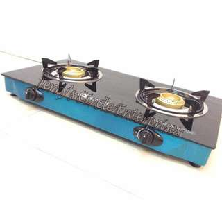 DOUBLE GLASS TOP STOVE BURNER 2-988 A26