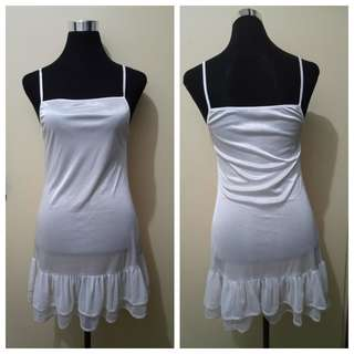 WA818 White Nightgown Lingerie - see pics for Measurements and flaw