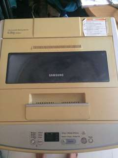 samsung automatic 6kg washing machine
