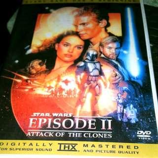 Dvd Star Wars Episode II