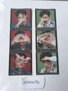 [WTT] GOT7 Eyes On You Pre Order Stickers (JB and Bambam)