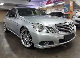 Mercedes-Benz E250 AT .Velg AMG R19.TOP Condition UNIT