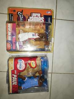 McFarlane LeBron and CP3 bundle