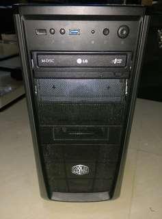 [限時7月份優惠!!即平$200](搶手貨):出讓中高階Intel i3-3.4GHz高速四核心桌面電腦一部