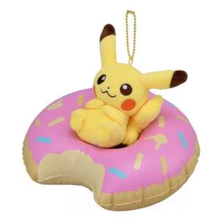 [PO] PIKACHU DONUT MASCOT PLUSH [TROPICAL SWEETS] - POKEMON CENTER EXCLUSIVE