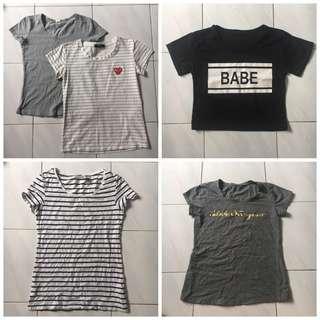 T-Shirt/ Jacket / Skirt / Pants (2 for RM30)