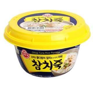 韓國 即食吞拿魚粥
