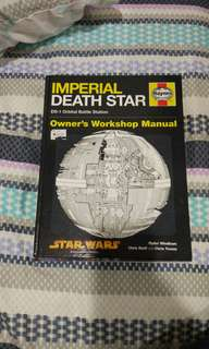 Hardcover book Imperial Death Star Manual: DS-1 Orbital Battle Station #July50