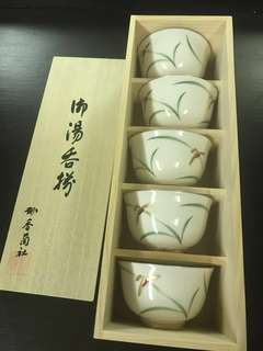 Unique Japanese soup bowls