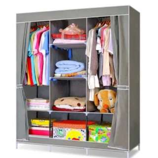 DIY King Size Wardrobe - 2 person used Clothes Hanger