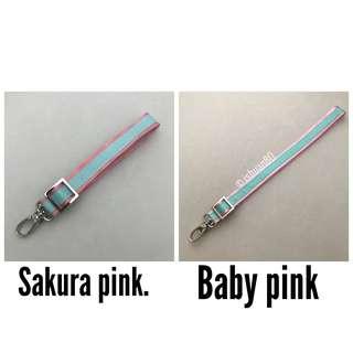 0.75 inch dual color Aquamarine pink seat belt strap for Jujube