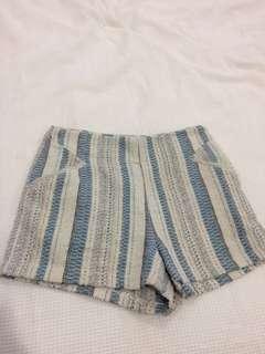 Knit style shorts