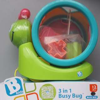 BKids - 3 in 1 Busy Bug