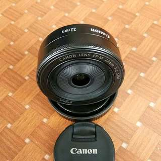 Lensa fix 22mm f2 dp 200rb aja