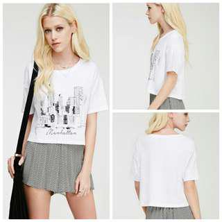 Forever21 graphic tees/T-Shirt