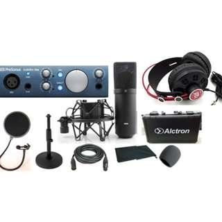 Presonus Audiobox I ONE Recording Bunder Set