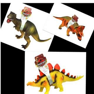 Dinosaur world rubberize with sound
