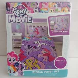 MY LITTLE PONY-  Reversible Duvet Set Single