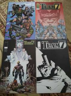 TEAM 7 (Image Comics) #1-4