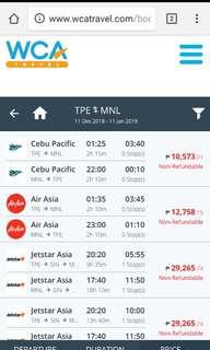 🚚 air tickets
