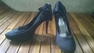 Black Shoes Branded Janessa from US