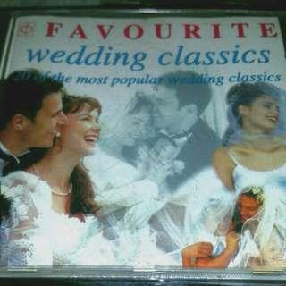 CD Favourite Wedding Classics
