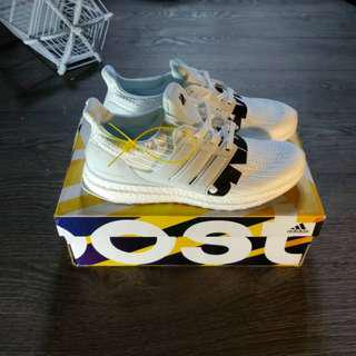 (Best Seller) UNDEFEATED x Adidas Ultra Boost 4.0 White