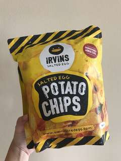 IRVINS Salted Egg Potato Chips (BIG Size)